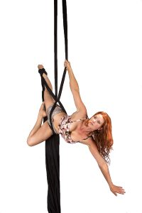 Silks Homepage Image - Vertigal Aerial Fitness: Canberra Pole Dancing